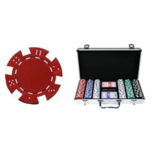 Kelowna Pool Tables Game Room - 300 Piece 11 5 Gram Composite Dice Poker Chip Set