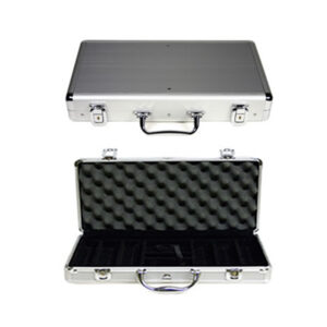 Kelowna Pool Tables Game Room - Aluminum Poker Chip Case
