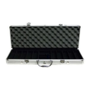 Kelowna Pool Tables Game Room - 500 Piece Aluminum Poker Chip Case