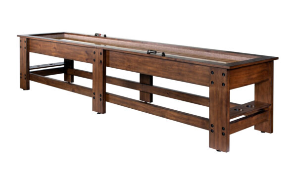 Kelowna Pool Tables Game Room - Clark 12 Foot Shuffleboard