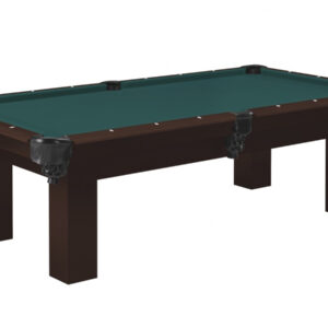 Kelowna Pool Tables Game Room - Colt Nutmeg Basic Green
