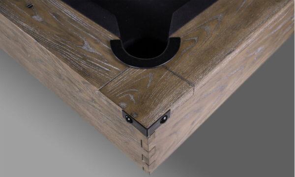 Kelowna Pool Tables Game Room - Harpeth II Corner Close up