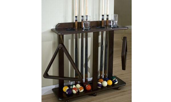 Kelowna Pool Tables Game Room - Heritage Floor Rack Room