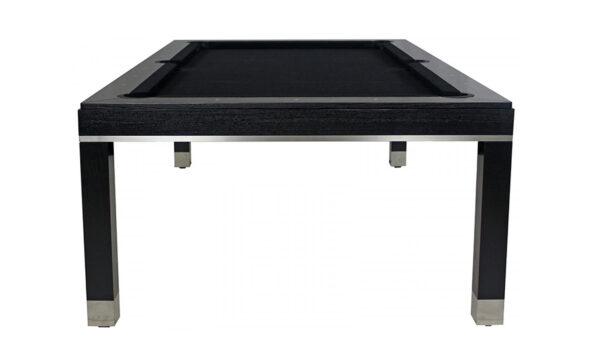 Kelowna Pool Tables Game Room - Jamie Billiard Table Blackberry Worsted Cloth Onyx