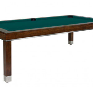 Kelowna Pool Tables Game Room - Jamie Chocolate Basic Green