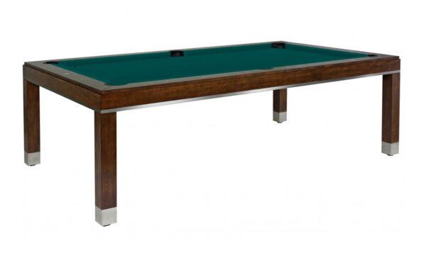 Kelowna Pool Tables Game Room - Jamie Chocolate Basic Green