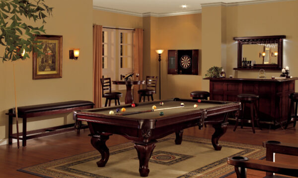 Kelowna Pool Tables Game Room - Mallory Pool Table Room