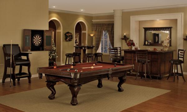 Kelowna Pool Tables Game Room - Megan Room