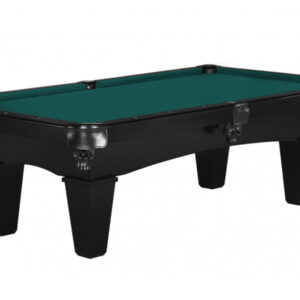 Kelowna Pool Tables Game Room - Mustang Onyx Basic Green