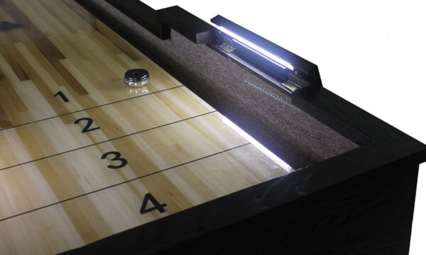 Kelowna Pool Tables Game Room - Rustic Cimarron Shuffleboard