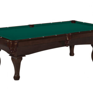 Kelowna Pool Tables Game Room - Stallion Nutmeg Basic Green
