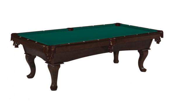 Kelowna Pool Tables Game Room - Stallion Nutmeg Basic Green
