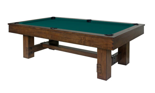Kelowna Pool Tables Game Room - Winchester 62 Basic Green